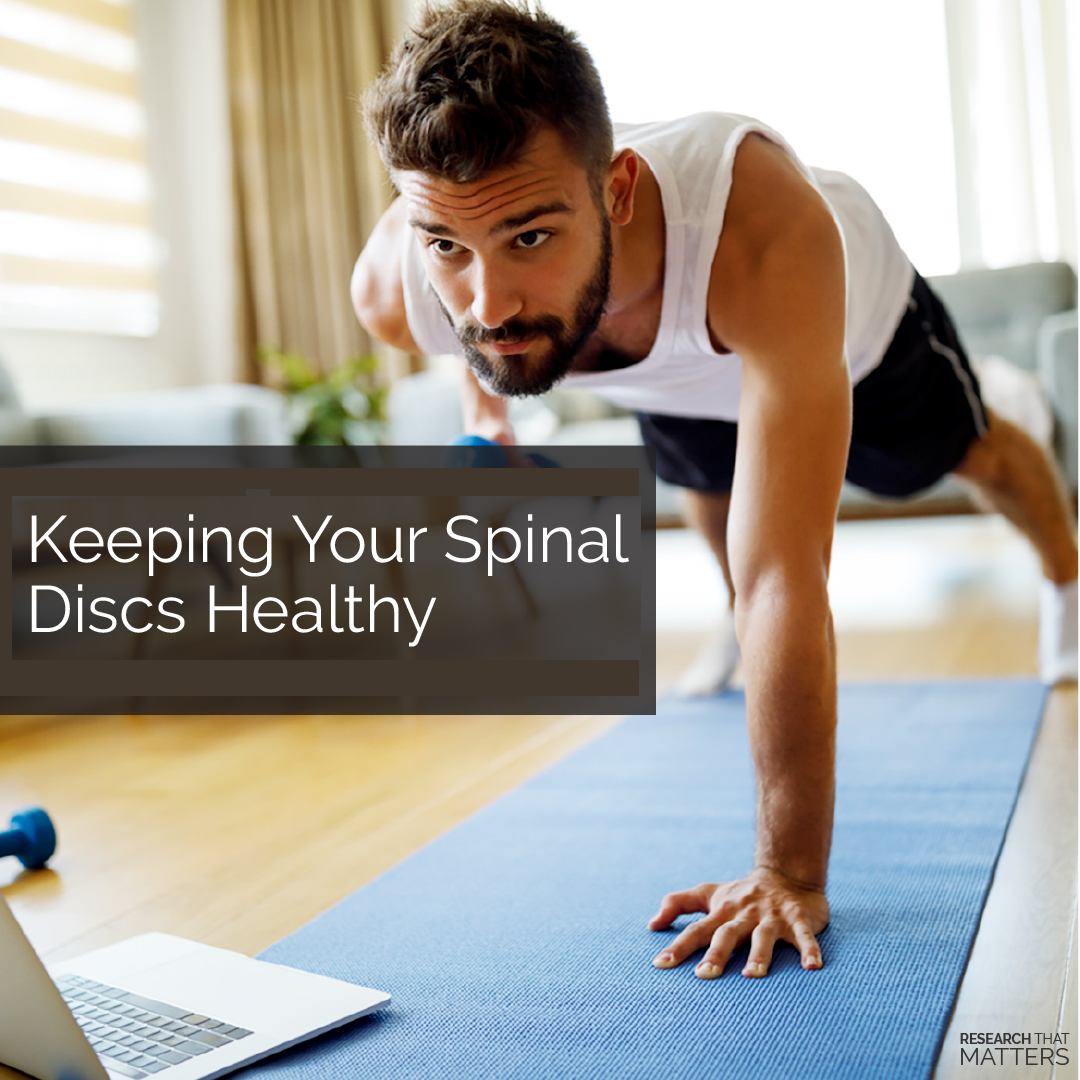 Keeping Your Spinal Discs Healthy in Springfield IL